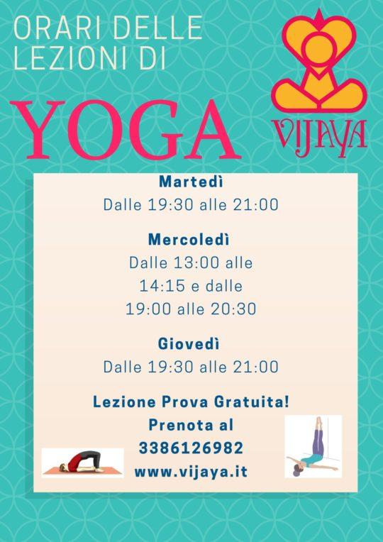 Aggiornamenti Appuntamenti Vijaya Yoga Roma Shiatsu