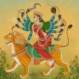 Durga yoga e energia femminile